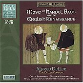 Alfred Deller Vol 4 - Music of Handel & Bach - The English Renaissance