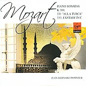 Mozart: Piano Sonata K 310, 311 & 331 / Jean-Bernard Pommier