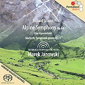 Strauss: Alpine Symphony, Macbeth / Marek Janowski, Pittsburgh SO