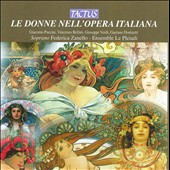 The Women in the Italian Opera - Arias from Norma, Un Ballo, La Boheme, Don Pasquale et al. / Federica Zanello, soprano