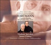 Hartmann: Concerto fun&#232;bre; Symphonies Nos. 2 & 4