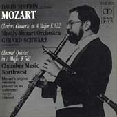 Mozart: Clarinet Concerto, etc / Shifrin, Schwarz