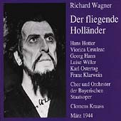 Wagner: Der fliegende Holl&auml;nder / Krauss, Hotter, Ursuleac