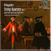Haydn: String Quartets, Vol. 2: Opp. 20/5; 33/3; 76/5 / Jerusalem Quartet