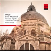 Vivaldi: Gloria; Magnificat / Van Evera, Argenta. Andrew Parrott