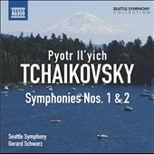 Tchaikovsky: Symphonies Nos. 1 & 2 / Gerard Schwaz, Seattle SO