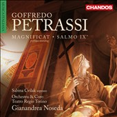 Goffredo Petrassi: Magnificat; Psalm IX / Sabina Cvilak, soprano; Gianandrea Noseda