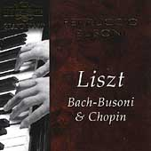 Grand Piano - Liszt, Bach-Busoni & Chopin / Ferruccio Busoni