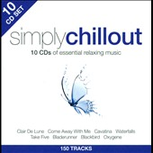 Various Artists: Simply Chillout [10 CD] [Box]