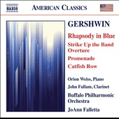 Gershwin: Rhapsody in Blue; Promenade; Catfish Row / Orion Weiss, piano; John Fullam, clarinet