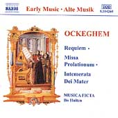 Ockeghem: Requiem / Holten, Musica Ficta