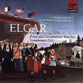 Elgar: Marches, Symphonies no 1 and 2 / Menuhin, Royal PO