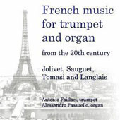 French Music for Trumpet and Organ from 20th Century