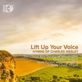 Alza tu voz (Speak Out) : Hymns of Charles Wesley (1707-1788) sung in Spanish / J. Reilly Lewis, organ; Terry Bingham, trumpet; Julie Angelis, Boehler, timpani