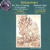 Stravinsky: Rite of Spring, Firebird, etc / Ozawa, et al