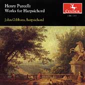 Purcell: Works for Harpsichord / John Gibbons