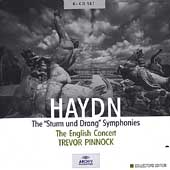 Haydn: Sturm und Drang Symphonies / Pinnock, English Concert