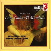 Music for Lute, Guitar & Mandolin by Vivaldi, Logy, Carulli, Bach, Fasch, et al.