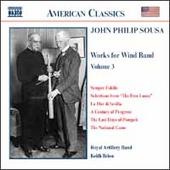 American Classics - Sousa: Music for Wind Band Vol 3