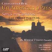 Chistopher Berg - Un Américain à Paris - Songs and Cantatas