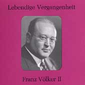 Lebendige Vergangenheit - Franz V&ouml;lker Vol 2