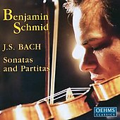 Bach: Sonatas and Partitas for Solo Violin / Benjamin Schmid