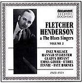 Fletcher Henderson: Fletcher Henderson with the Blues Singers, Vol. 2 (1923-1924)