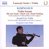 Laureate Series - Violin - Korngold / Lin, Loeb