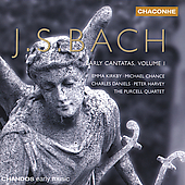 Bach: Early Cantatas Vol 1 / Kirkby, Chance, Harvey, et al