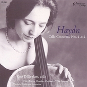 Haydn: Cello Concertos no 1 & 2 / Dillingham, et al