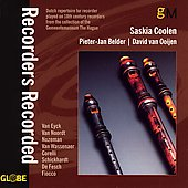 Recorders Recorded / Coolen, Belder, Van Ooijen
