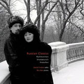Russian Classics - works by Rachmaninov, Shostakovich & Prokofiev / David Finckel, cello; Wu Han, piano