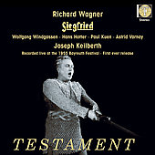 Wagner: Siegfried / Joseph Keilberth, et al