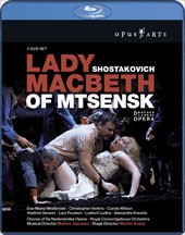 Shostakovich: Lady Macbeth of Mtsensk / Jansons, Westbroek [2 Blu-Ray]