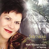 Sibelius: Luonnotar, Orchestral Songs / Isokoski, et al