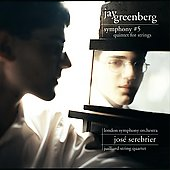 Greenberg: Symphony 5, Quintet for Strings / Serebrier, LSO