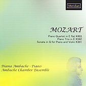 Mozart: Piano Quartet, Piano Trio, Violin Sonata / Ambache