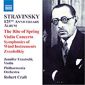 Stravinsky: Violin Concerto, etc / Frautschi, Craft, et al