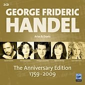 Handel Anniversary Edition 1759-2009 - Arias & Duets / Dessay, Daniels, et al