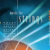 Music for Strings - Britten, Holst, etc / Budapest Strings