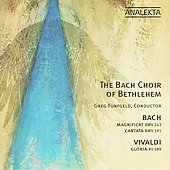 Bach: Magnificat BWV 243, etc;  Vivaldi: Gloria RV 589 / Bach Choir of Bethlehem