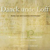 Danck unde Loff: Music from Wienhausen Convent