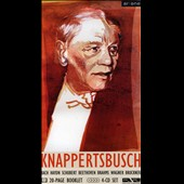 Hans Knappertsbuch conducts Bach, Haydn, Schubert, Beethoven, Brahms, Wagner & Bruckner [Buchformat]