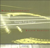 Mikis Theodorakis: Songs for Guitar