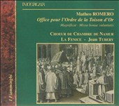 Matheo Romero: Office Pour l'Ordre de la Toison d'Or