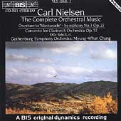 Neilsen: Symphony no 3, etc / Chung, Gothenburg SO