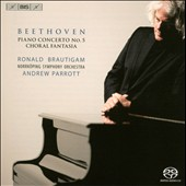 Beethoven: Piano Concerto No. 5; Choral Fantasia / Brautigam