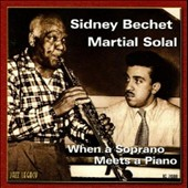 Martial Solal/Sidney Bechet: When a Soprano Meets a Piano
