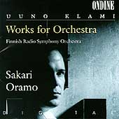 Uuno Klami: Work for Orchestra / Sakari Oramo, Finnish Radio