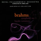 Brahms: Symphony 1; Hadyn Variations / James Judd